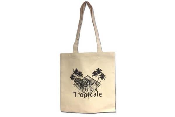 Tote bag La Ferme Tropicale - logo serpent