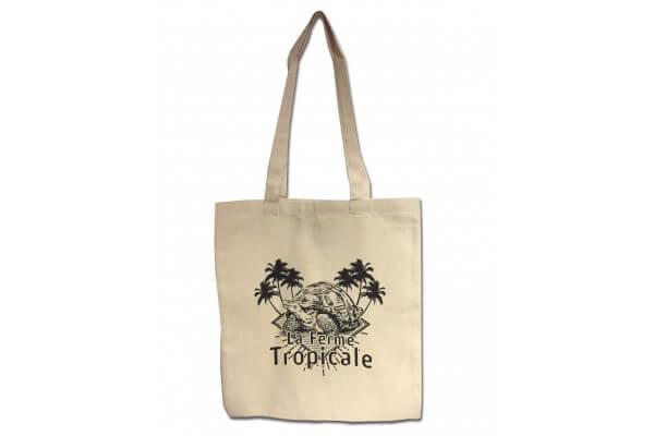 Tote bag La Ferme Tropicale - logo tortue