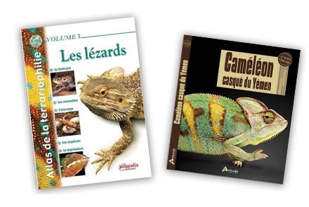 Achat  Livre Lézard - Livres Lézards - La Ferme Tropicale