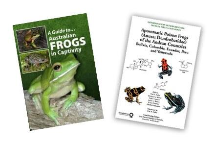 Achat Livres Amphibiens - Livres Anglais Amphibiens - La Ferme Tropicale